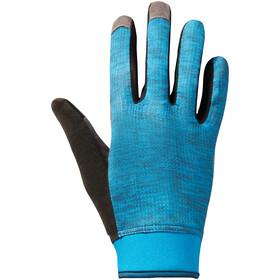 VAUDE Dyce II - Guantes largos Hombre - gris/azul